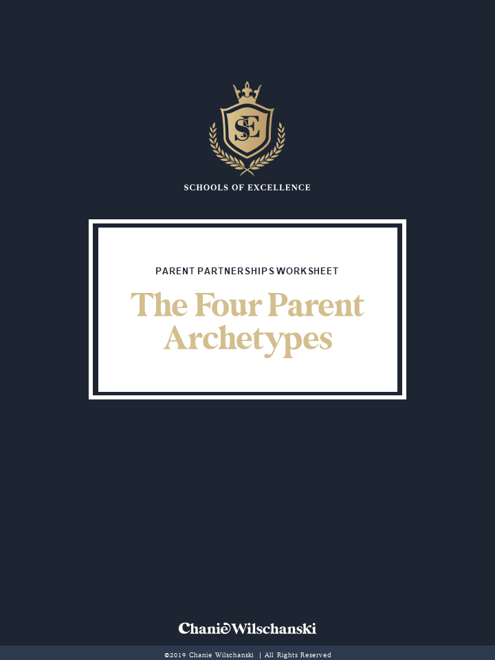 Schools of Excellence - Parent Archetypes